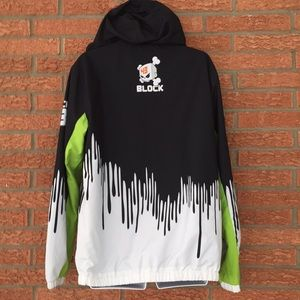 Hooded Monster Light Block Energy Ken Men's Jacket dtsrhCQx